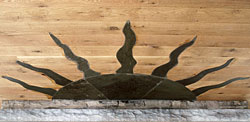 Sanctuary fireplace inlay